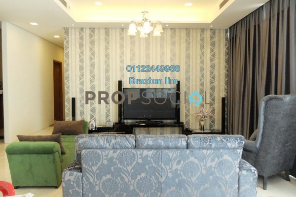 For Rent Condominium at Quadro Residences, KLCC Freehold Fully Furnished 3R/3B 8k
