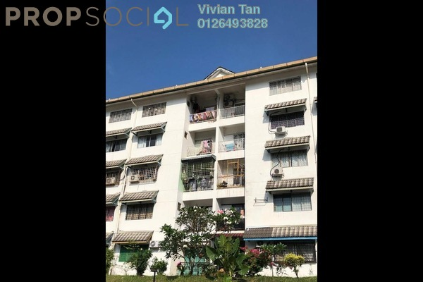 For Rent Apartment at Desa View Towers, Melawati Freehold Semi Furnished 4R/2B 1.3k