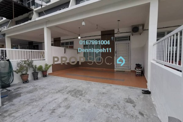Terrace For Sale in Taman Senai Utama, Senai Freehold Semi Furnished 4R/3B 466k