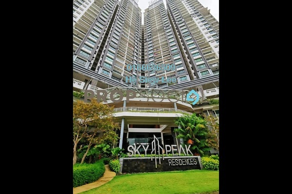 Serviced Residence For Rent in Sky Peak Residences, Setia Tropika Freehold Fully Furnished 4R/3B 2.8k