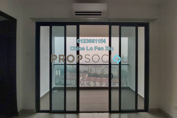 Condominium For Rent in Symphony Tower, Balakong Freehold Semi Furnished 3R/2B 1.3k