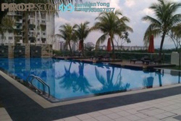Condominium For Rent in Rivercity, Sentul Freehold Fully Furnished 3R/3B 2.2k