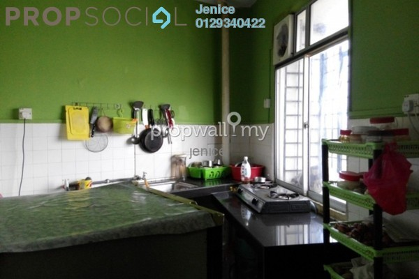 Apartment For Sale in Greenview Apartment, Kepong Leasehold Unfurnished 1R/1B 116k