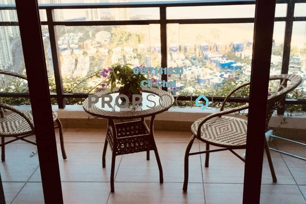 Serviced Residence For Rent in Grandeur Bay, Forest City Freehold Fully Furnished 2R/1B 1.2k