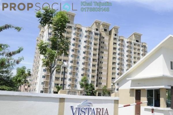 Condominium For Sale in Vistaria Residences, Bandar Puchong Jaya Leasehold Unfurnished 3R/2B 250k