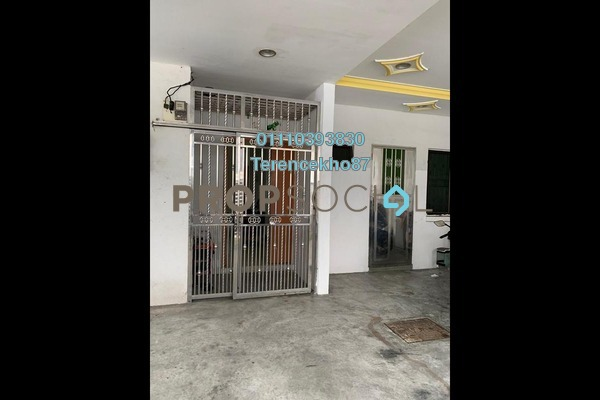 Terrace For Sale in Taman Pelangi, Johor Bahru Freehold Semi Furnished 3R/2B 800k
