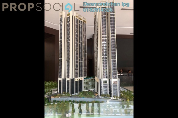 Condominium For Sale in Duta Park Residences, Jalan Ipoh Freehold Semi Furnished 3R/2B 550k