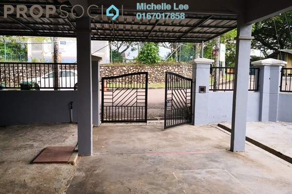 Terrace For Sale in Taman Puteri Wangsa, Ulu Tiram Freehold Unfurnished 3R/2B 450k