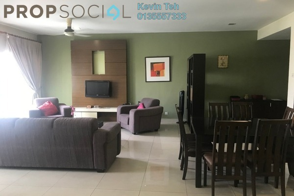 Condominium For Rent in Hartamas Regency 2, Dutamas Freehold Fully Furnished 3R/4B 3k