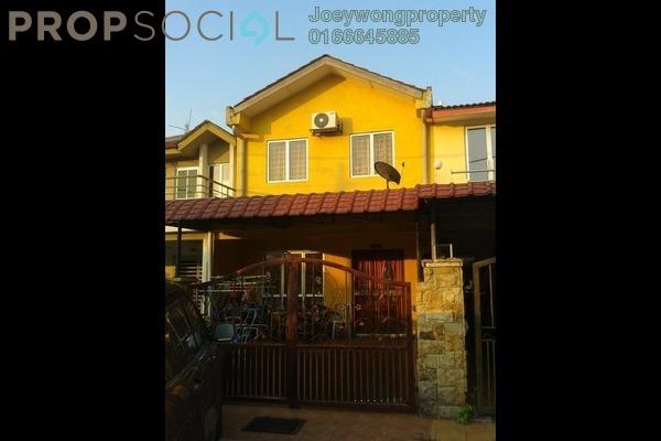 Terrace For Sale in PU8, Bandar Puchong Utama Freehold Semi Furnished 4R/3B 535k