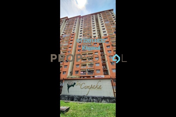 Apartment For Sale in Sri Cempaka Apartment, Kajang Freehold Unfurnished 3R/2B 270k