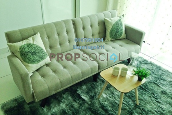 Serviced Residence For Rent in Sky Peak Residences, Setia Tropika Freehold Fully Furnished 2R/2B 1.5k