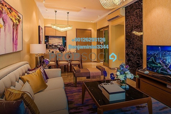 Serviced Residence For Sale in Agile, Bukit Bintang Freehold Semi Furnished 2R/2B 1.46m