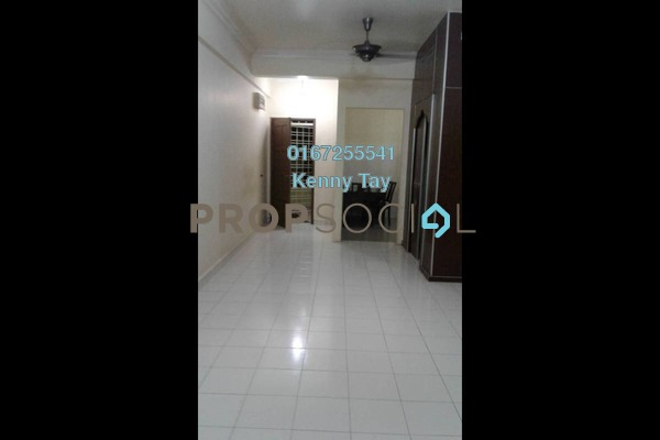 Condominium For Rent in Fortune Avenue, Kepong Freehold Semi Furnished 3R/2B 1.5k