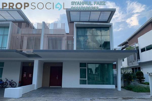 Semi-Detached For Rent in Garden Residence, Cyberjaya Freehold Semi Furnished 4R/4B 3k
