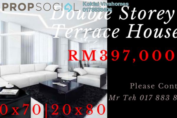 Terrace For Sale in Iringan Bayu, Seremban Freehold Unfurnished 4R/3B 366k