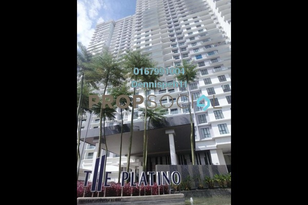 Serviced Residence For Sale in The Platino, Skudai Freehold Fully Furnished 1R/1B 345k