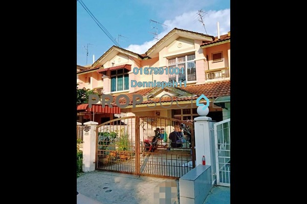 For Sale Terrace at Taman Sri Pulai Perdana 1, Pulai Freehold Unfurnished 3R/2B 390k