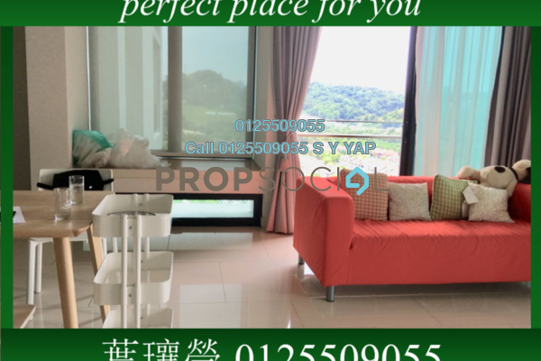 Condominium For Rent in One Central Park, Desa ParkCity Freehold Fully Furnished 2R/3B 3.9k