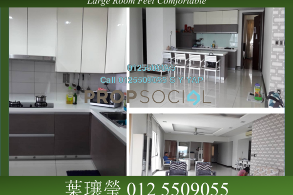 Condominium For Sale in The Northshore Gardens, Desa ParkCity Freehold Semi Furnished 3R/4B 1.9m
