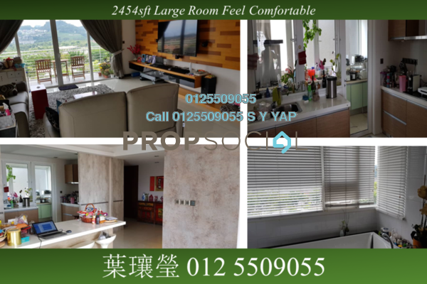 Condominium For Sale in The Northshore Gardens, Desa ParkCity Freehold Semi Furnished 4R/5B 2.38m