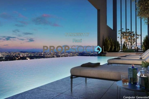 Serviced Residence For Sale in Alix Residences, Kuala Lumpur Freehold Semi Furnished 3R/4B 1.3m