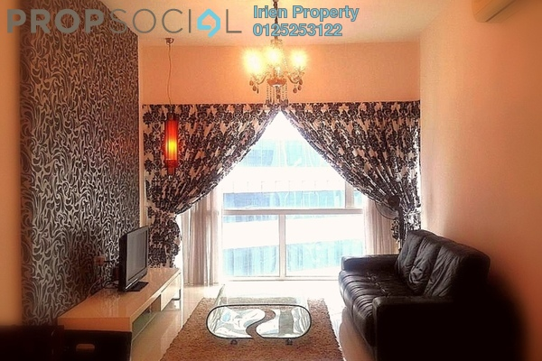 Condominium For Rent in Suasana Sentral Loft, KL Sentral Freehold Fully Furnished 2R/1B 3.3k