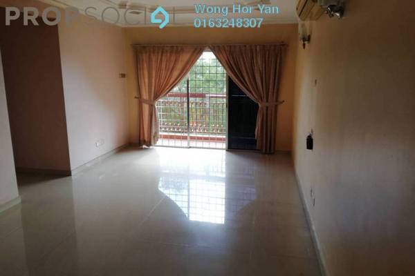 Apartment For Sale in D'Cahaya Apartment, Bandar Puchong Jaya Freehold Semi Furnished 3R/2B 335k