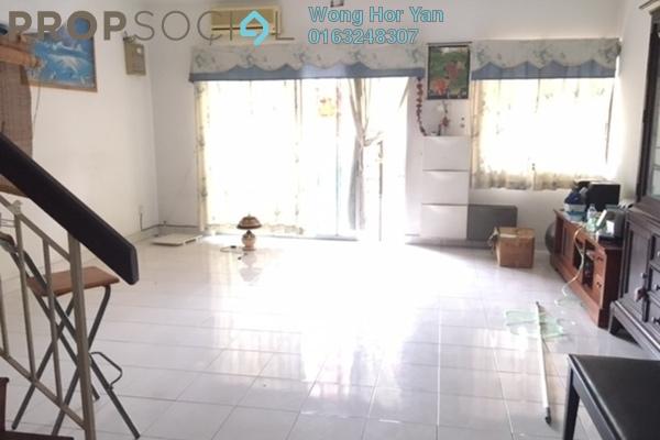 Terrace For Sale in PU8, Bandar Puchong Utama Freehold Semi Furnished 4R/3B 498k