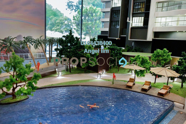 Serviced Residence For Sale in Setia Sky Seputeh, Seputeh Freehold Fully Furnished 3R/4B 3.04m