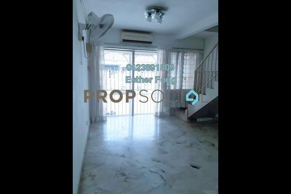Terrace For Rent in Taman Sentul Jaya, Sentul Freehold Semi Furnished 3R/2B 1.4k