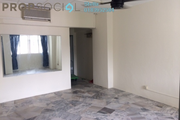 Apartment For Rent in Tasik Heights Apartment, Bandar Tasik Selatan Freehold Semi Furnished 3R/2B 1.1k