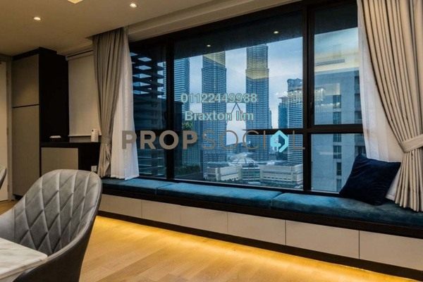 Condominium For Rent in The RuMa Residences, KLCC Freehold Semi Furnished 2R/3B 5k