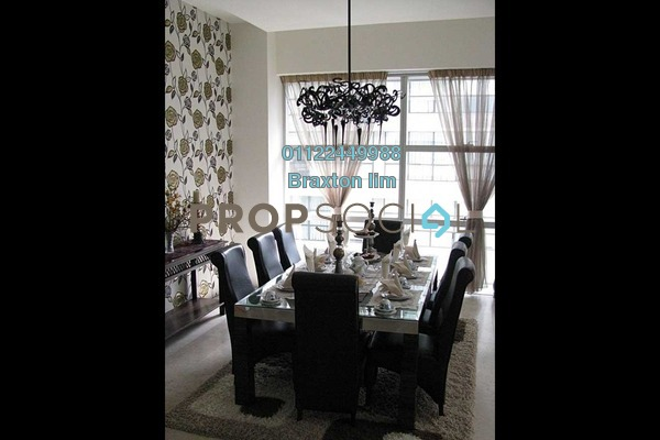 Condominium For Rent in Park Seven, KLCC Freehold Semi Furnished 3R/5B 9k