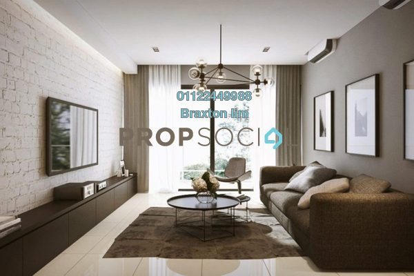 Condominium For Sale in Stonor Park, KLCC Leasehold Semi Furnished 3R/5B 2.1m