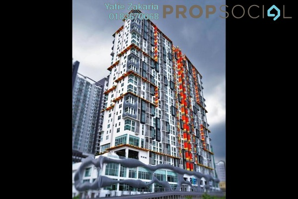For Sale Condominium at Arte SW, Shah Alam Freehold Semi Furnished 3R/2B 580k