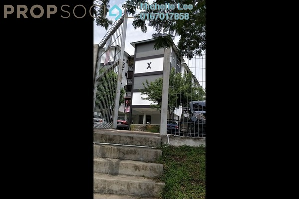 Apartment For Rent in Taman Pelangi Indah, Ulu Tiram Freehold Unfurnished 3R/2B 600translationmissing:en.pricing.unit