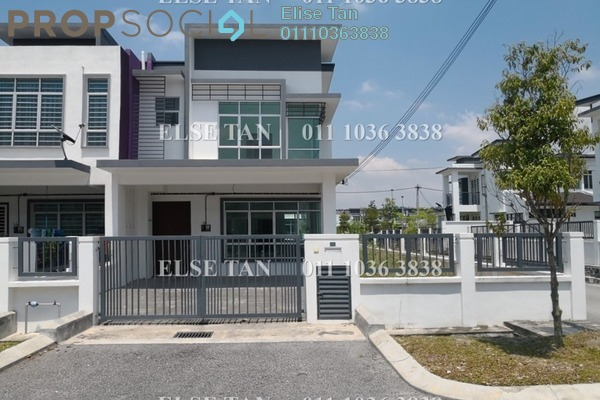 Terrace For Sale in Méranti, HillPark Freehold Semi Furnished 4R/3B 395k