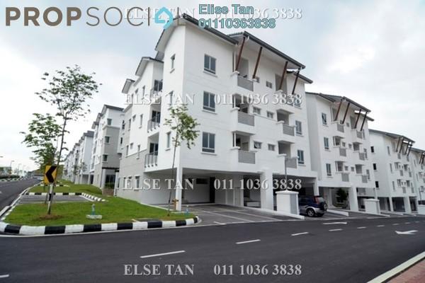 Townhouse For Sale in Bayan Villa, Seri Kembangan Freehold Semi Furnished 4R/4B 486k