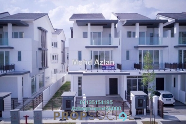 Terrace For Sale in Aquamarine, Taman Putra Prima Freehold Semi Furnished 5R/5B 1.2m