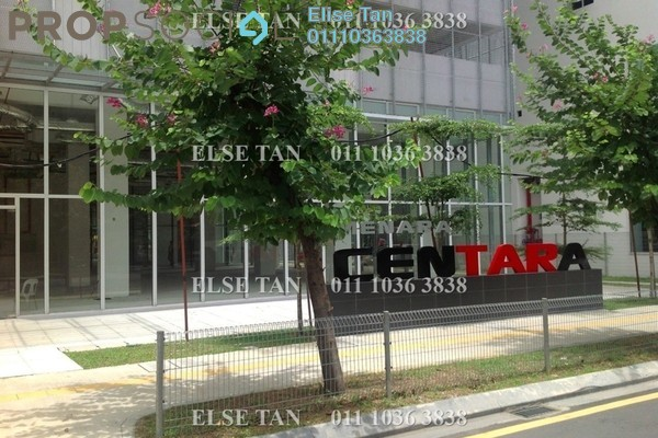 Office For Sale in Menara Centara, Chow Kit Freehold Semi Furnished 0R/0B 1.22m