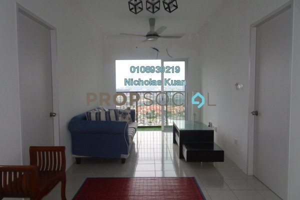Apartment For Rent in Residensi Jalilmas, Bukit Jalil Freehold Fully Furnished 3R/2B 1.4k