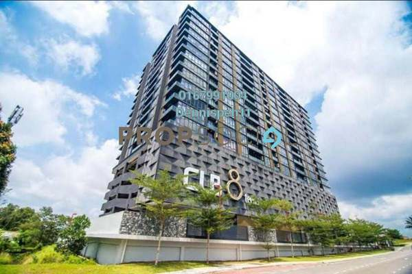 Serviced Residence For Rent in Cube 8 Teens Service Apartment, Tebrau Freehold Semi Furnished 2R/2B 1.6k