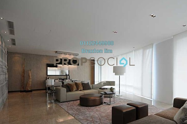 Condominium For Sale in The Oval, KLCC Leasehold semi_furnished 3R/4B 3.5m