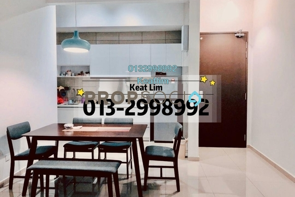 For Rent Condominium at PJ Midtown, Petaling Jaya Freehold Fully Furnished 2R/2B 3k
