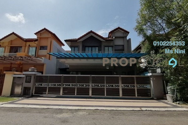 For Sale Semi-Detached at Perdana Residence 1, Selayang Freehold Semi Furnished 4R/5B 2.05m