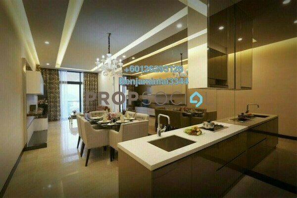 For Sale Serviced Residence at Dorsett Residences, Bukit Bintang Freehold Fully Furnished 1R/1B 1.27m