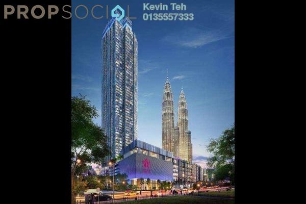 Condominium For Sale in Star Residences, Kuala Lumpur Freehold Semi Furnished 1R/1B 1.89m