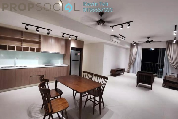 For Rent Condominium at Residensi Sefina, Mont Kiara Freehold Fully Furnished 3R/2B 4.5k
