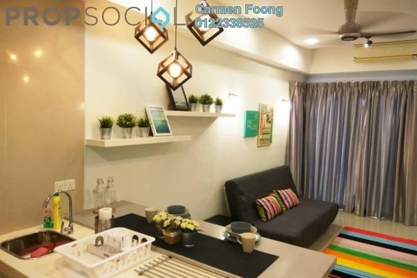 Condominium For Sale in Gaya Bangsar, Bangsar Freehold Fully Furnished 0R/1B 550k